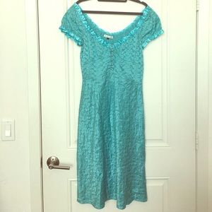 Vintage 90's Betsey Johnson Ultra silk dress